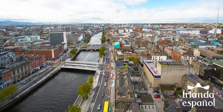 Dublín vista aérea