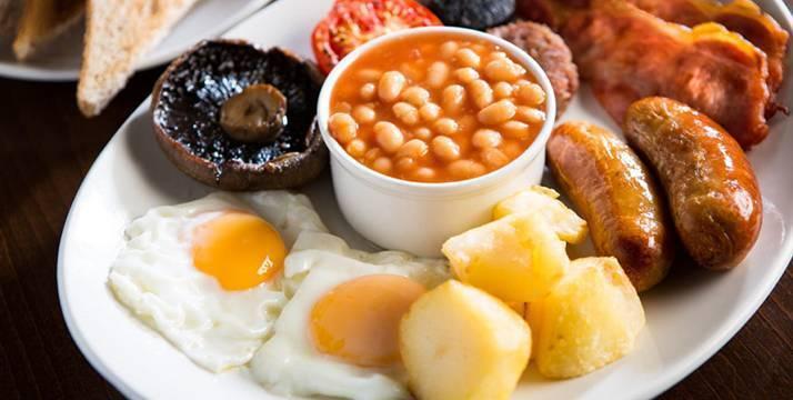 Desayuno inrlandés completo