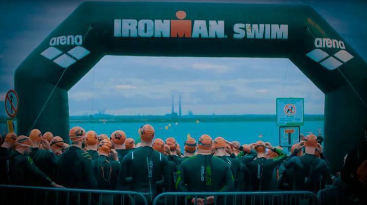 Salida Ironman 70.3 Sandycove