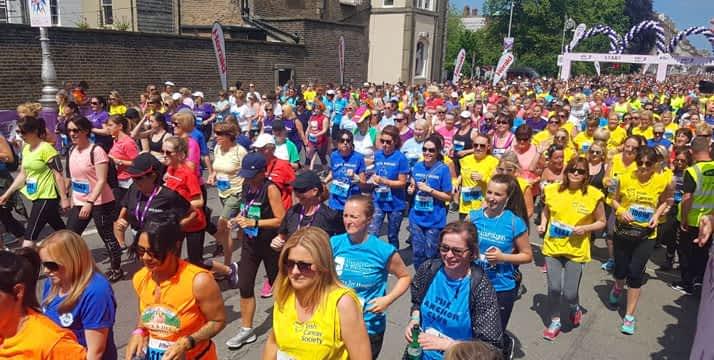 Participantes de la Women´s Mini Marathon Dublin