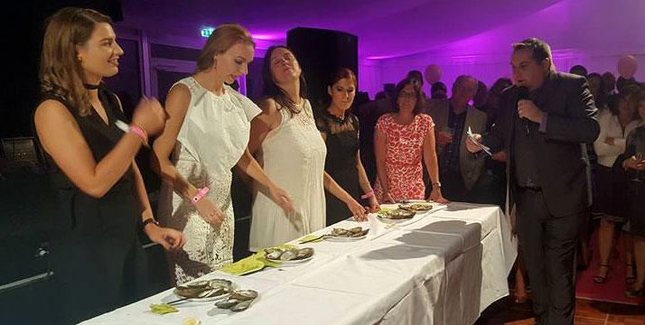 Concurso de comer ostras